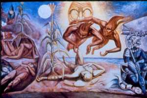 creacion-del-hombre-maya-raul-anguiano