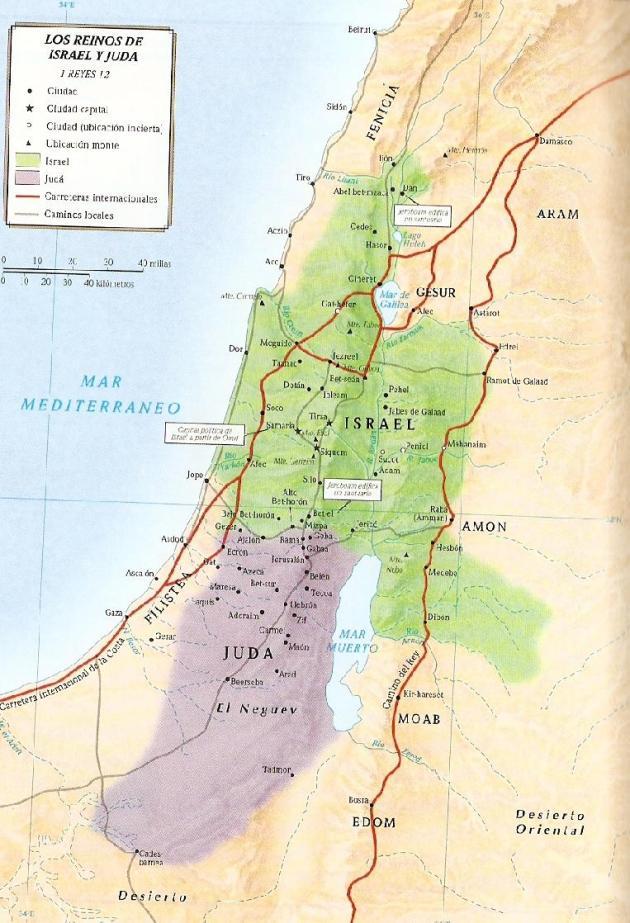Los Reinos de Israel y Juda