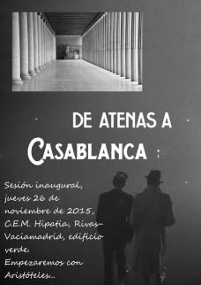 Atenas_casablanca cartel fecha