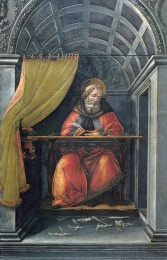 st-augustine-in-his-cell-sandro-botticelli-c-1490-1494